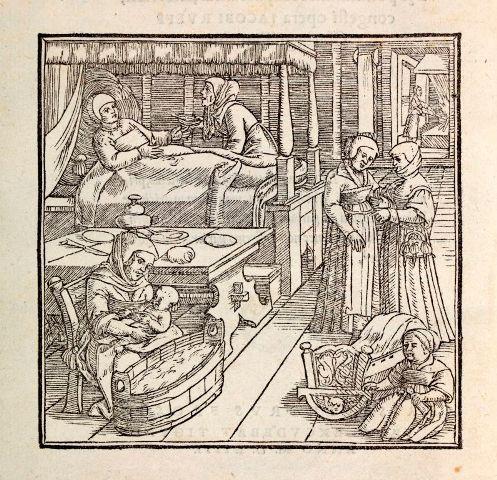Jakob Rüff, De conceptu et generatione hominis…, 1554 (K.9.24)