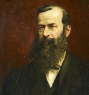 Portrait of Samuel Savage Lewis