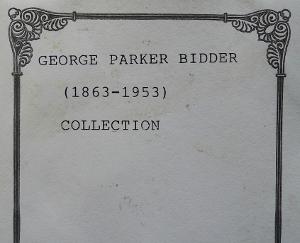 Bidder bookplate