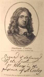 Abraham Cowley