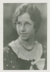 Photo of Alice Ambrose from the Cambridge Wittgenstein Archive