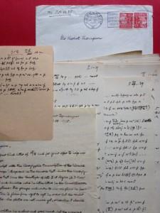 Thompson letters