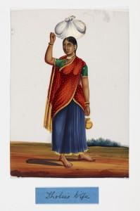 Dhobee's (washerman's) wifefe