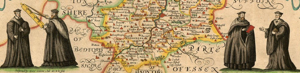 Extract from the Cambridgeshire map