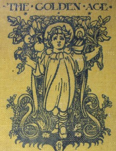 "Front cover of Kenneth Grahame's ""The golden age"", bought from Brooke by Keynes"