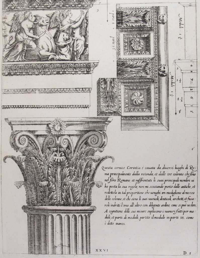 Vignola, Li cinque ordini di architettura (Venice, ?1648), CCA.66.3