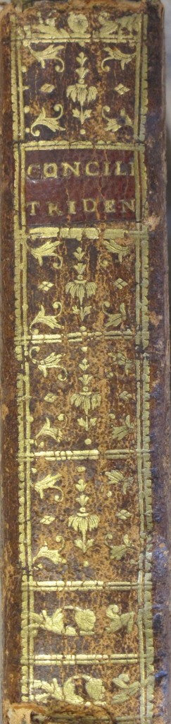 Gilt spine of one new acquisition (7000.e.454)