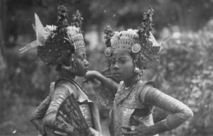 RCMS 371_6_66 Legong dancers, Bali, 1931