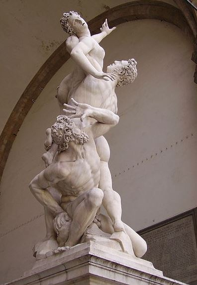Giambologna's 'Rape of a Sabine'
