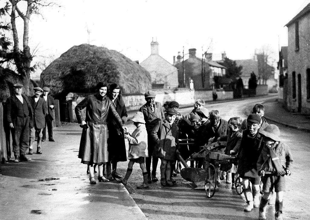 Plough Monday in Swaffham Prior (MS Add. 7515)
