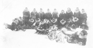 Y3062S_114 First detachment of Northwest Mounted Police sent to the Yukon, 1895