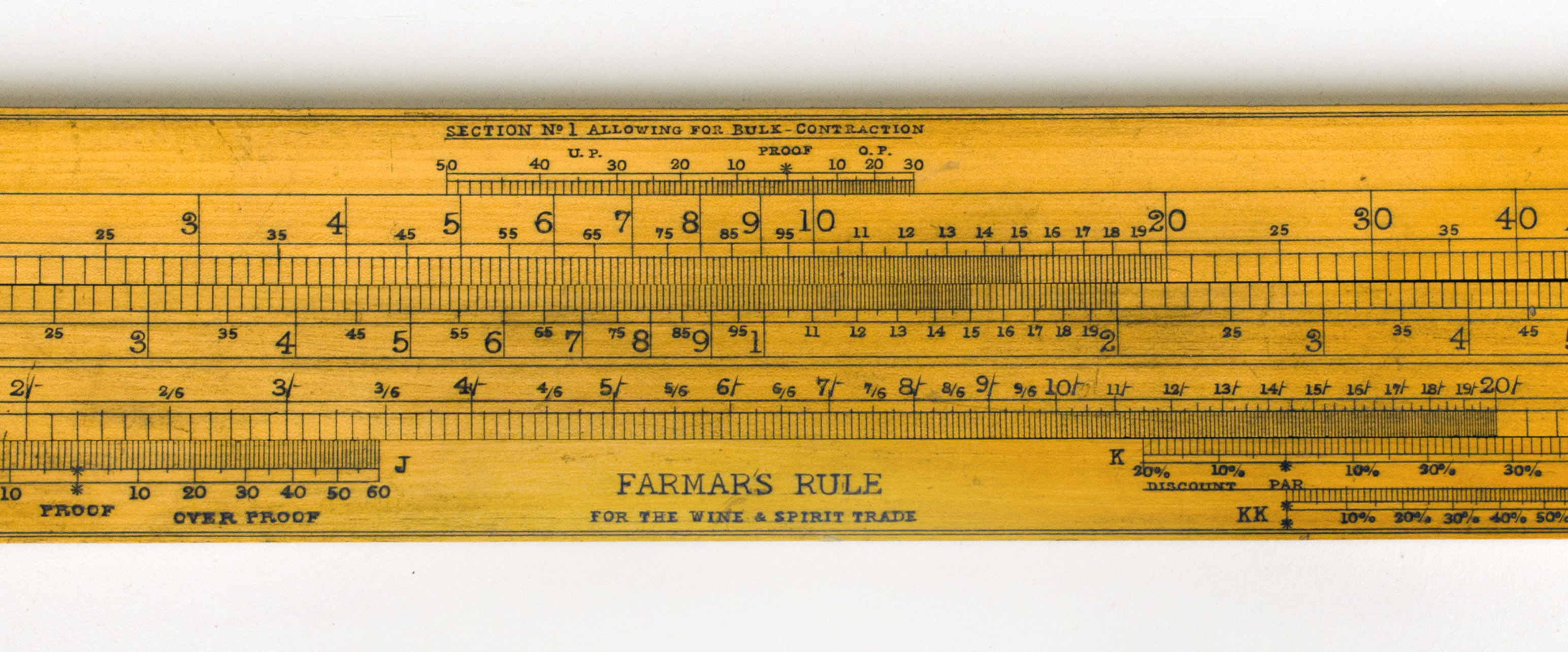 The First Slide Rule  A Discovery In The Macclesfield