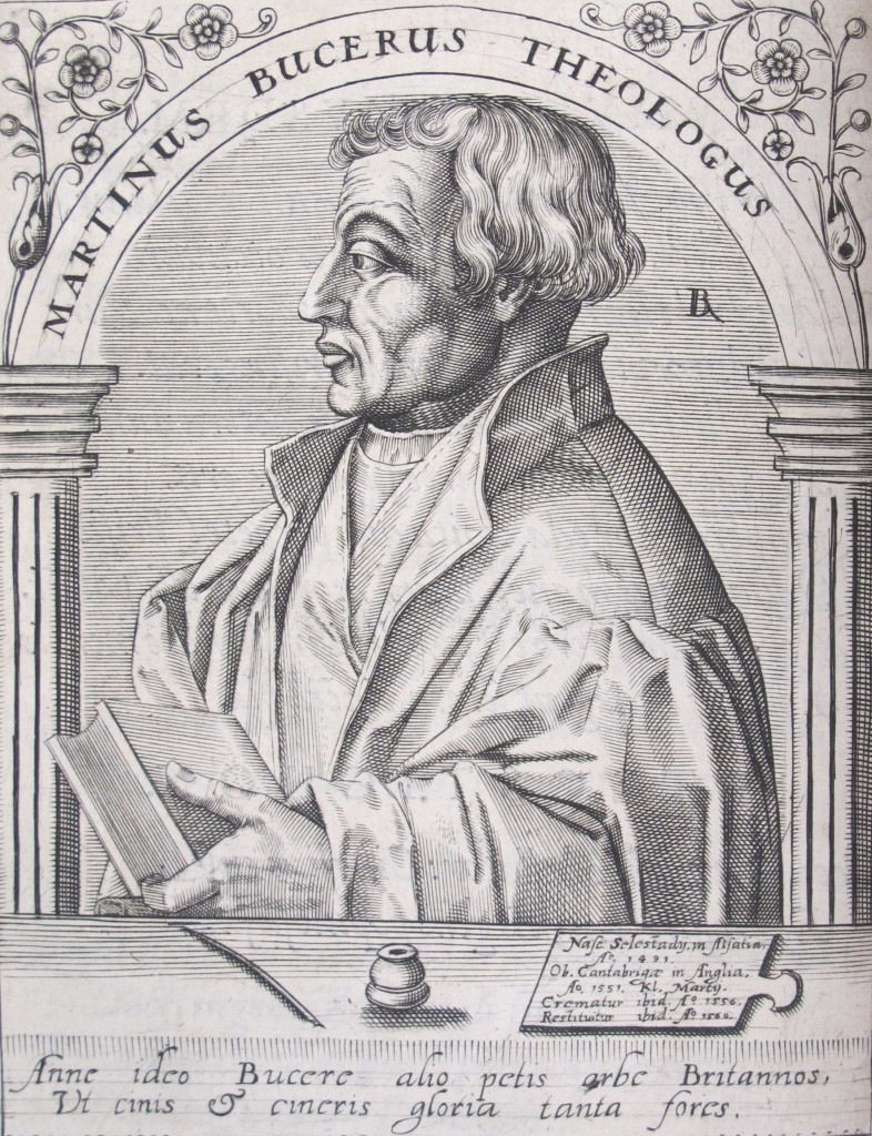 Bucer's portrait in Boissard's Icones quinquaginta virorum illustrium (Frankfurt, 1597-9), Syn.6.59.8