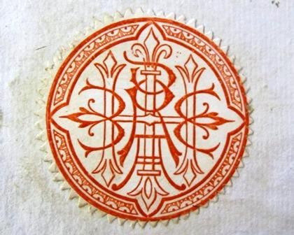 Ex libris of Ricardo Heredia y Livermore, Conde de Benahavís (1831-1896), (6000.d.241)