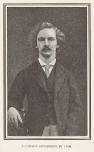 Algernon Swinburne, 1866