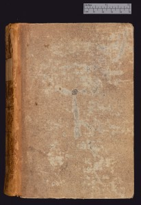 Twentieth-century binding of brown boards, attached to MS Ff.6.8