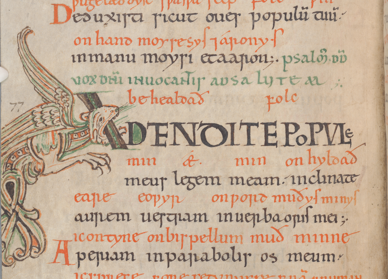 Reading Between the Lines: An 11th-Century Bilingual