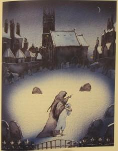 Michael Foreman (b. 1938), illustrator A Christmas Carol (London : Gollancz, 1983) 1983.8.1748