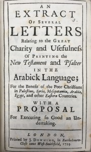 Tracts published by the SPCK in 1725