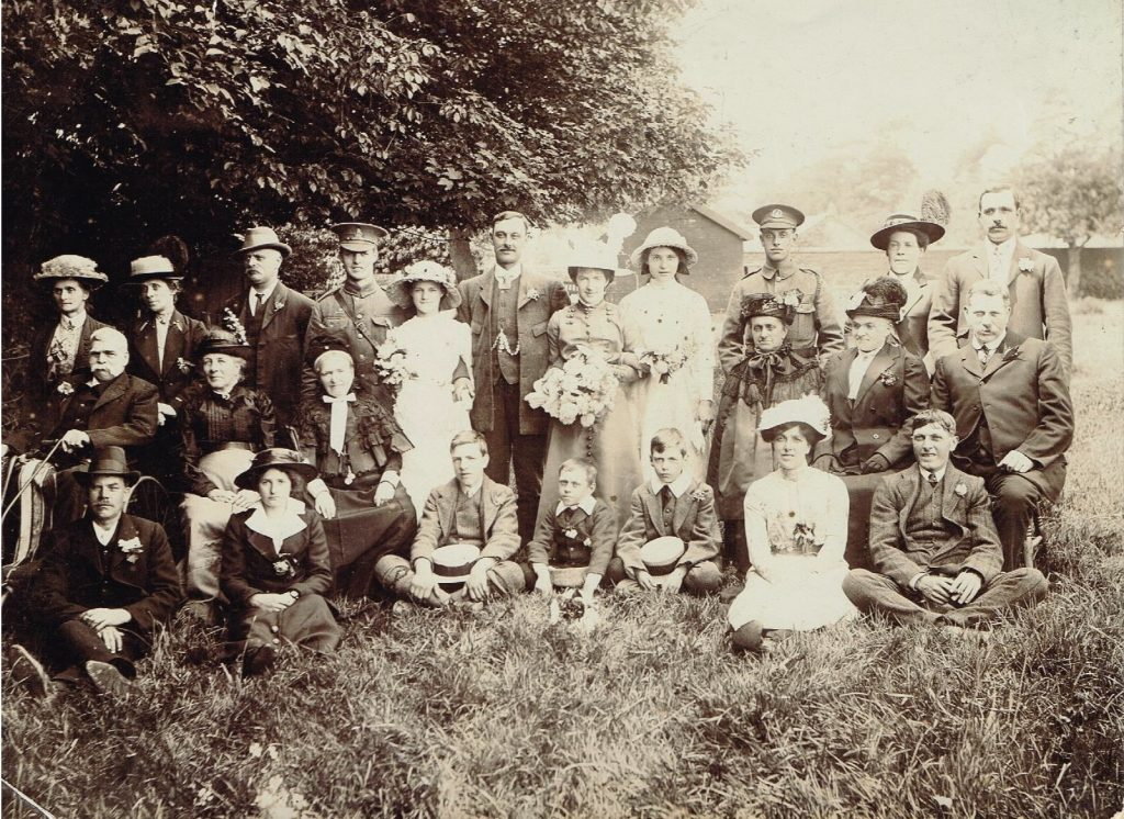 Family wedding 1915