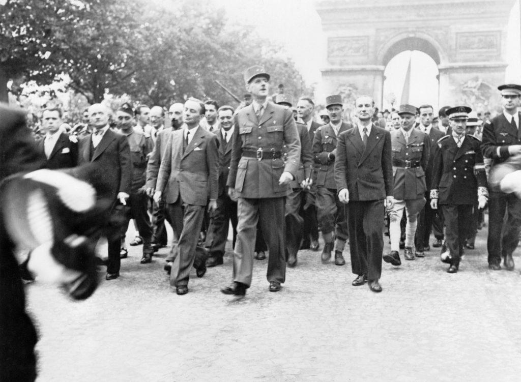 De Gaulle in Paris, 1944