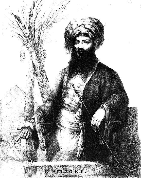 Belzoni portrait