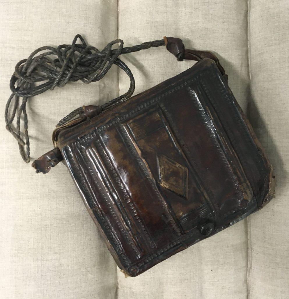 Prayerbook in satchel